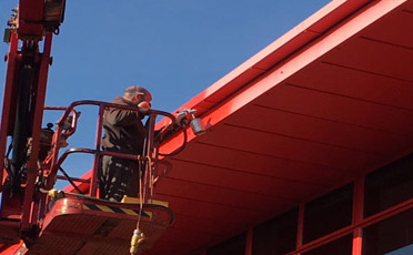 Soffits and flashing repair