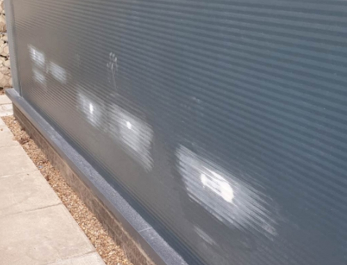 Nottingham Hospital – Cladding Panel Respray and Repairs