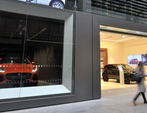 Jaguar Land Rover, Westfield, London – Panel Repair and Respray