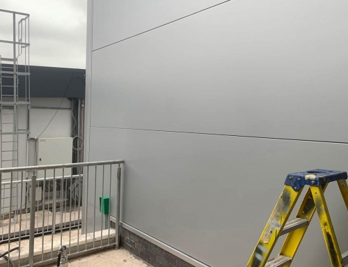 Telford Shopping Centre – Cladding Repair and Respray