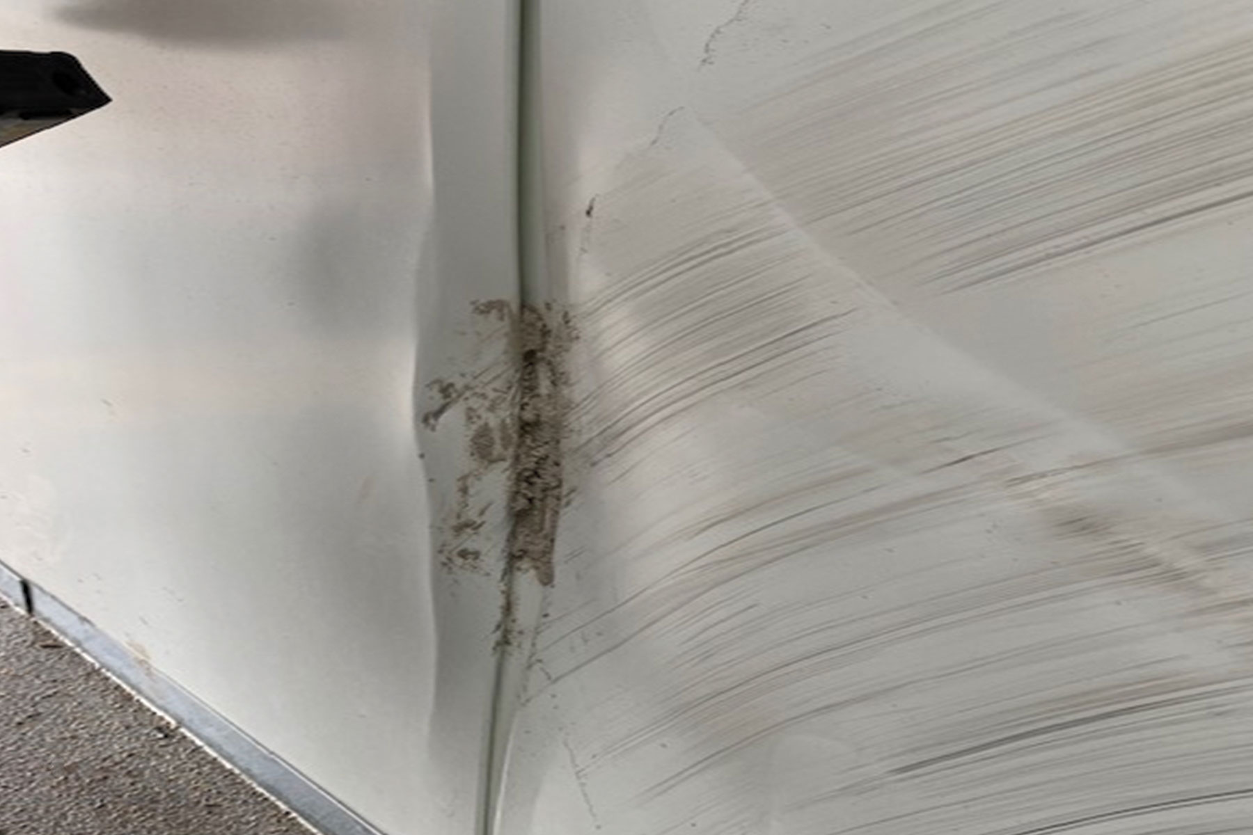 damaged cladding dents and scratches
